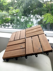 Wood deck tiles - Good change - New idea